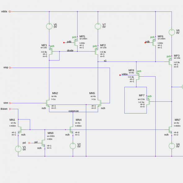 Low Voltage Opamp